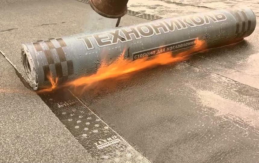 Наплавляемая кровля - Линокром, Биполь