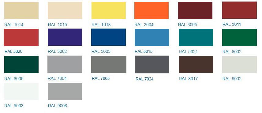 NormanMP цветовая гамма